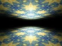 Floor and ceiling infinite abstract background texture Stock Photo