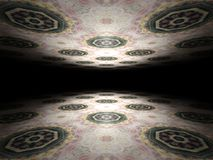 Floor and ceiling infinite abstract background texture Royalty Free Stock Photography