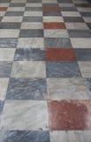 The floor  in the church of Santa Cristina Royalty Free Stock Photos