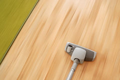 Floor Cleaning Action Royalty Free Stock Images