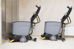 Floor cleaning machine. Image of a Floor cleaning machine Royalty Free Stock Photo