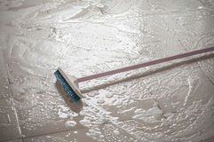Floor cleaning Royalty Free Stock Images