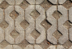 Floor concrete block Royalty Free Stock Photography