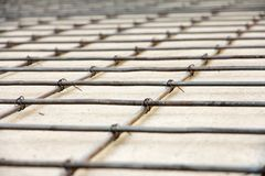 Floor construction Royalty Free Stock Image