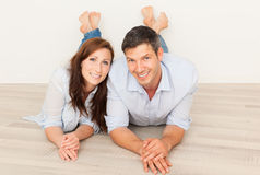 Floor couple Royalty Free Stock Images