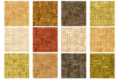 Floor covering - Set 2 (Seamless texture) Stock Photography