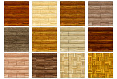 Floor covering - Set 1 (Seamless texture) Stock Image