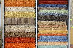 Floor coverings Stock Photos