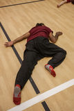 , on floor. On floor, dance performance improvisation royalty free stock photos