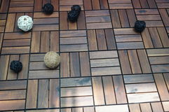 Floor decoration Stock Image