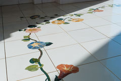 Floor decoration Royalty Free Stock Photography