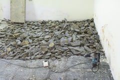 Floor Demolition Stock Image