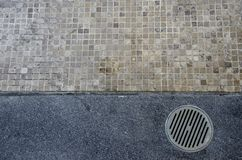 Floor drain Stock Photo