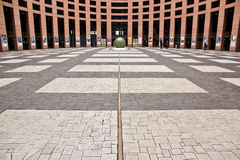 Floor of the European Parliament Stock Photography