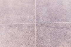 Floor finishes called `Stone wash` grey color Stock Photography