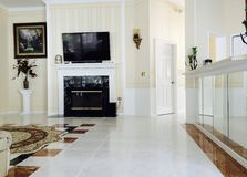 Floor, Flooring, Living Room, Tile