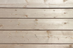 Floor from fresh pine boards Stock Photos