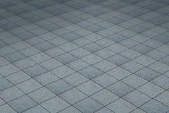 Floor gray tiles Stock Photos