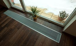 Floor heating Stock Images