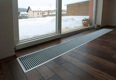 Floor heating Stock Image