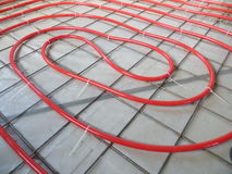 Floor heating Royalty Free Stock Photography