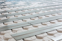 Floor heating Royalty Free Stock Photos
