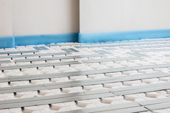 Floor heating Stock Photography