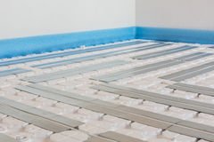 Floor heating Royalty Free Stock Image