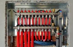 Floor heating 1 Stock Image