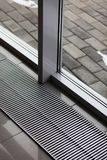Floor heating grill vents Royalty Free Stock Images