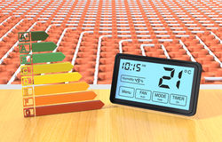 Floor heating system Royalty Free Stock Photography