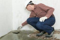 Floor installation royalty free stock photos