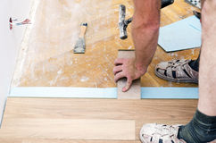 Free Floor Installation Stock Photography - 36703802