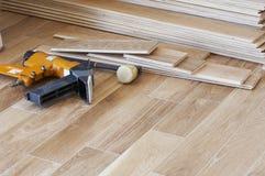 Floor installation Royalty Free Stock Photo