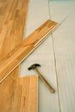Floor installation Stock Image