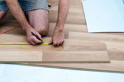 Floor installation Royalty Free Stock Photos