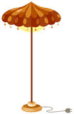 Floor lamp Stock Image