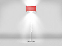 Floor Lamp Against Wall Royalty Free Stock Images