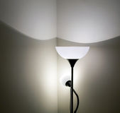 Floor lamp in interior Stock Photo