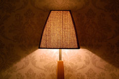 Floor lamp light and shadow Stock Photos