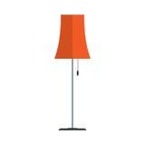 Floor lamp vector. Royalty Free Stock Photo