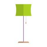 Floor lamp vector. Stock Photography