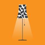 Floor lamp vector. Royalty Free Stock Photos
