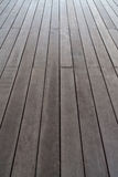 Floor made by plank wood Royalty Free Stock Image