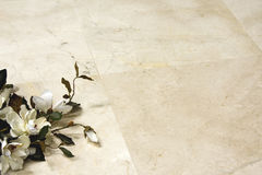 Floor marble. To decorate a floor with marble Royalty Free Stock Image