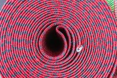 Floor mat texture. Roll of floor mat texture stock image