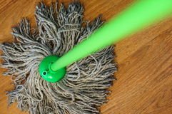 Floor mop Royalty Free Stock Images