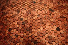 Floor mosaic background Royalty Free Stock Images