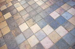 Floor mosaic background Stock Photo