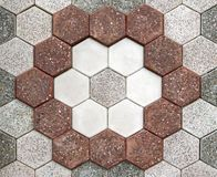 Floor mosaic Stock Images